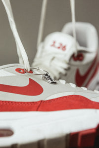 Air Max 1 - Silver earrings 925
