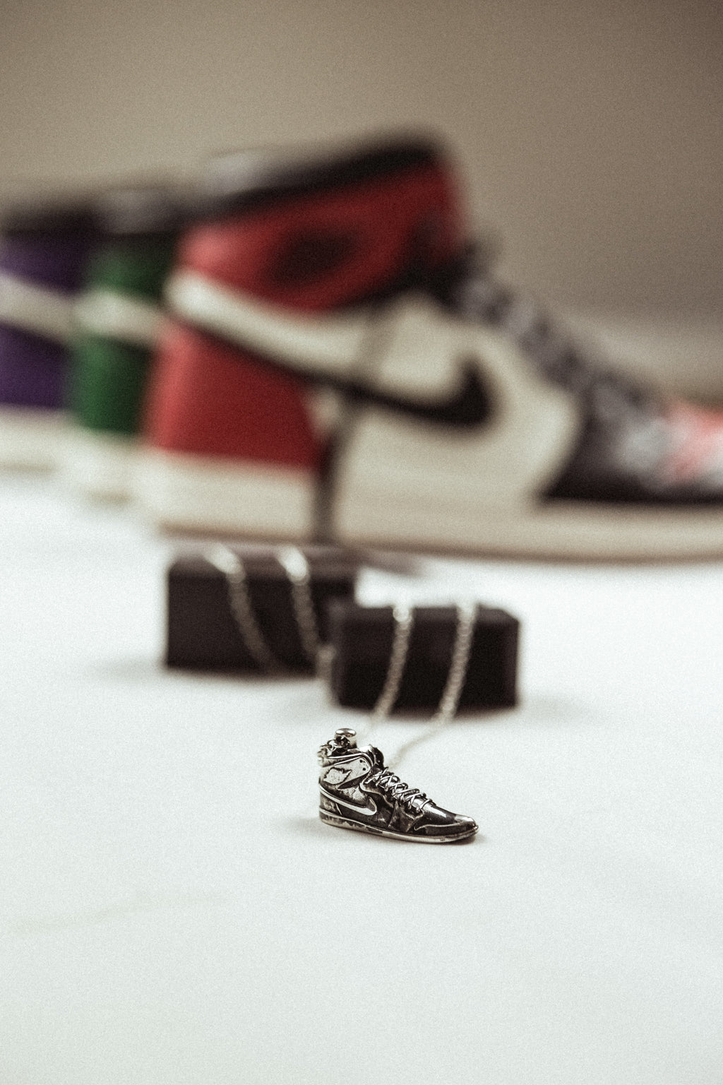 Air Jordan 1 - Silver necklace 925
