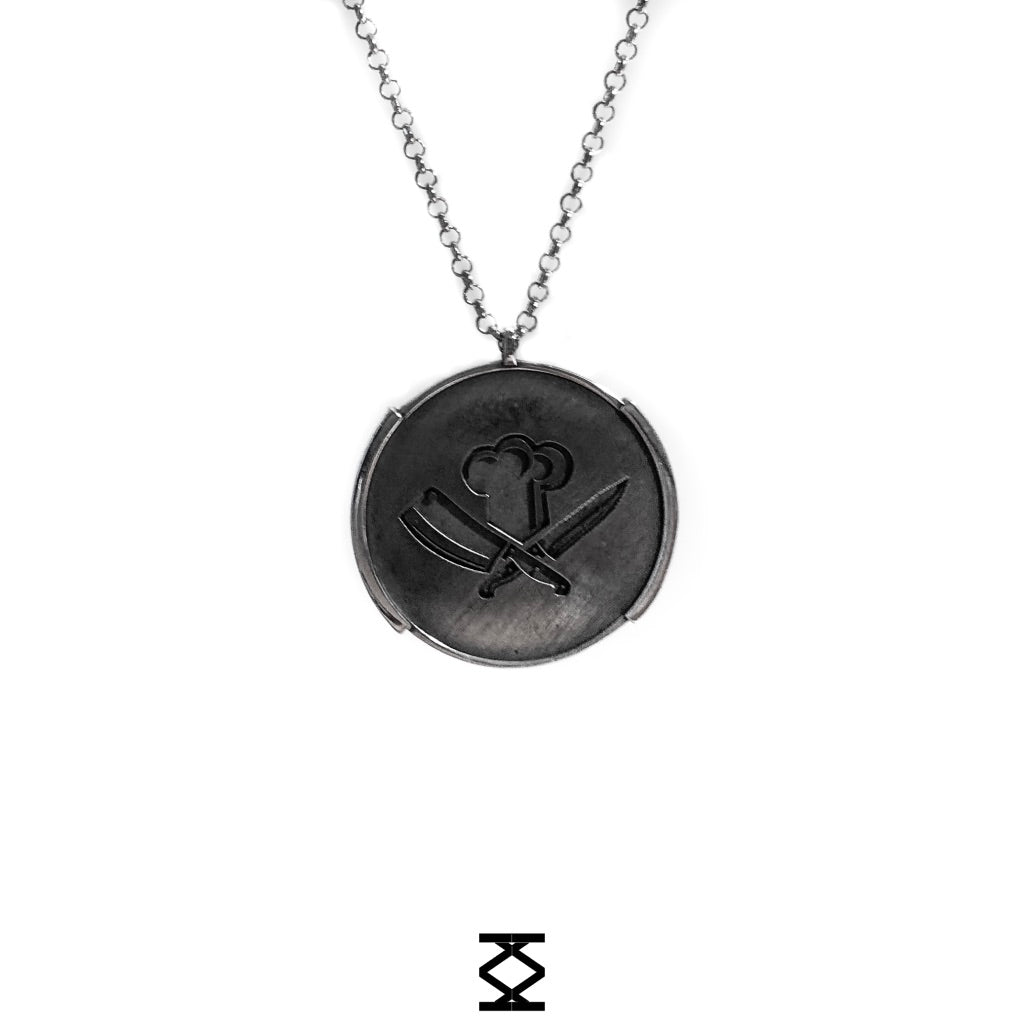 Brotherhood - personalized necklace in silver 925