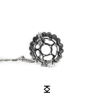 Noise - THE CREATION - collana in argento 925 personalizzata