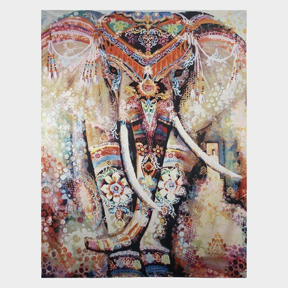 64% OFF Beautiful Elephant Tapestry