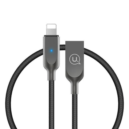 Smart Auto disconnect USB Cable for iPhone 5 6 7 8 X