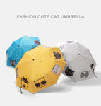 Fashion Cute Cat Umbrella