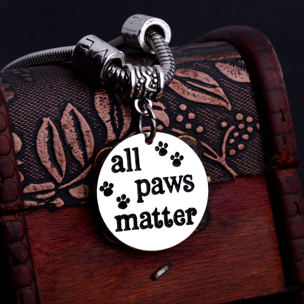 All Paws Matter Cat Bracelet
