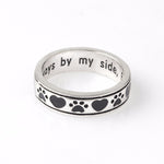 Always By My Side Cat Ring