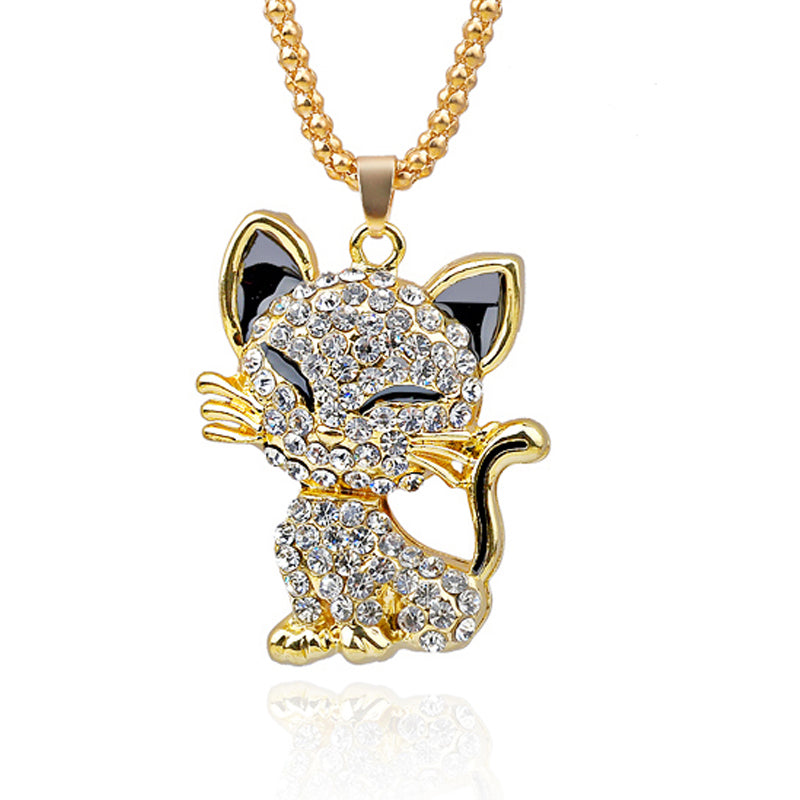 Golden Cat Necklace
