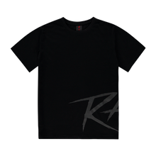 Load image into Gallery viewer, RAN-D BLACK LOGO TEE