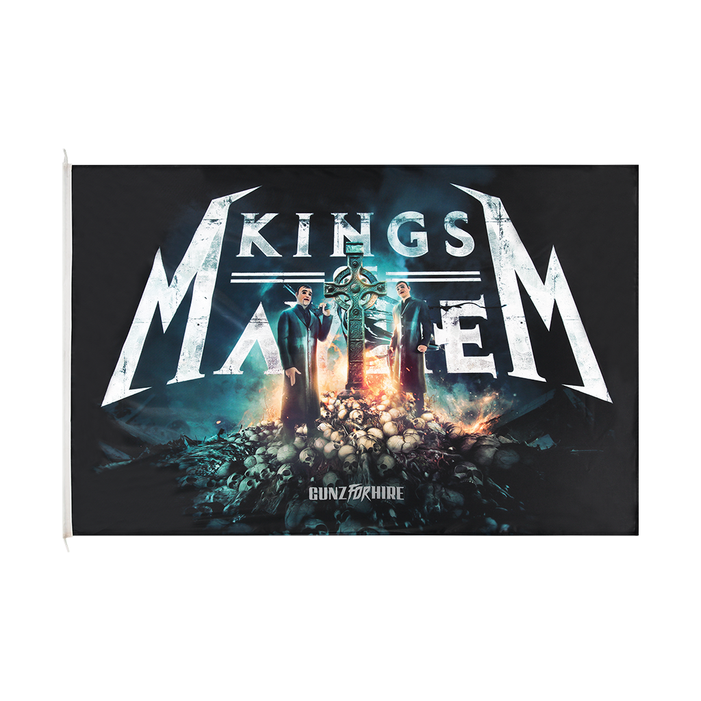 Gunz for Hire - Kings of Mayhem Flag