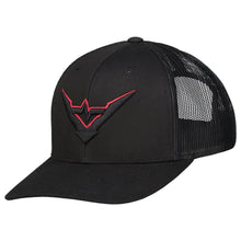 Load image into Gallery viewer, Frequencerz Stealth Mode truckercap (black)