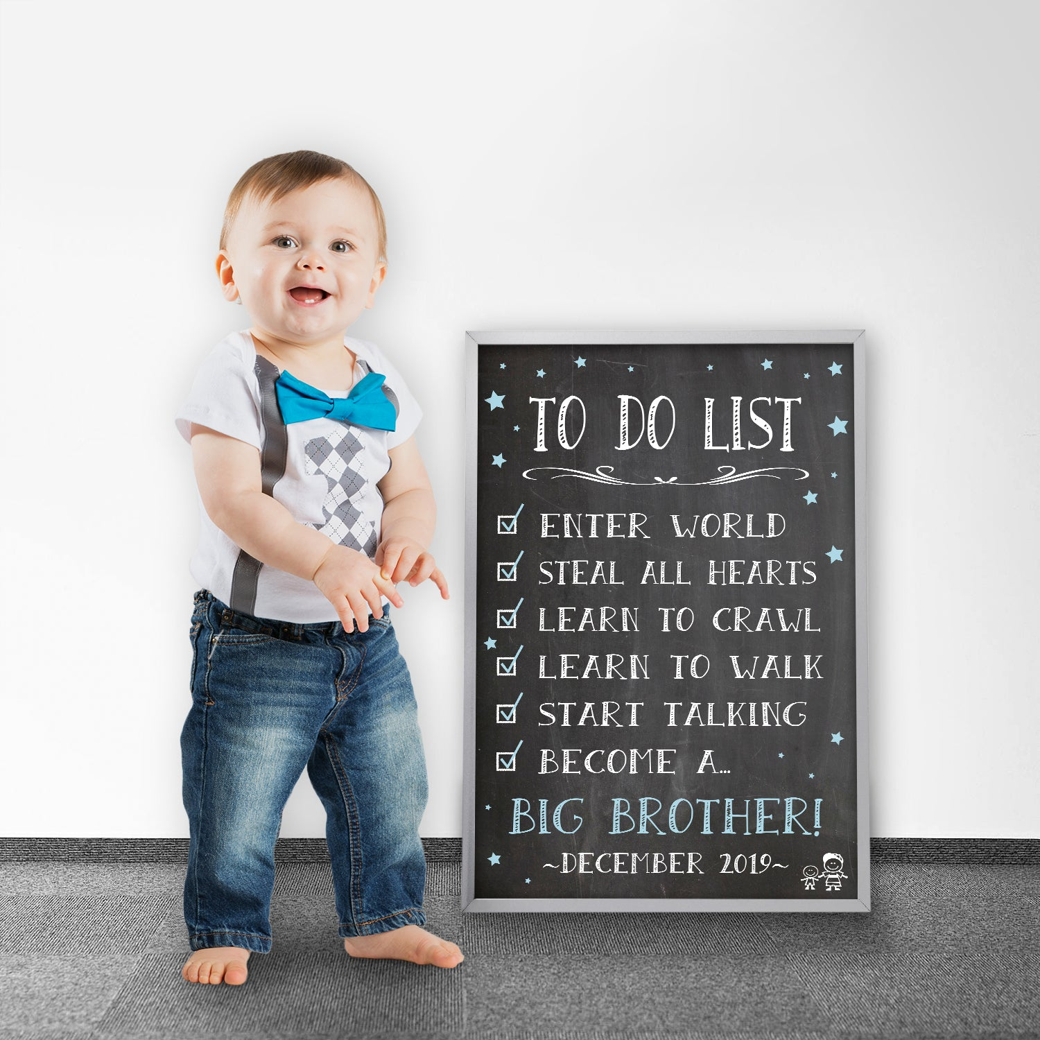 big brother to do list poster sign pa035 katie doodle