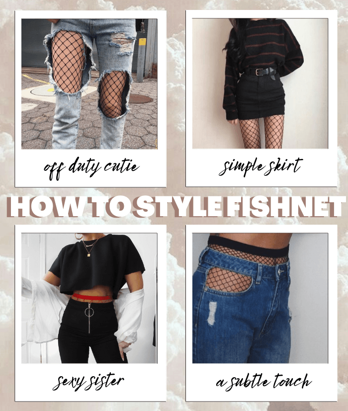 How to Style Fishnet | KATCH ME