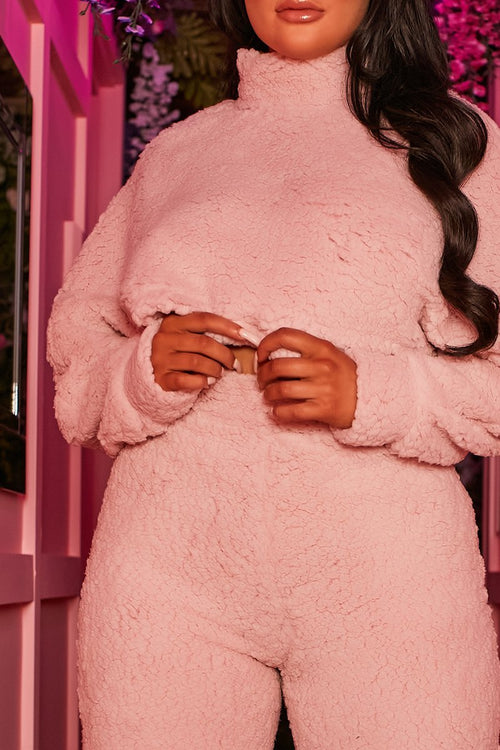 Pink Teddy Co-Ord - Shanice - KATCH ME