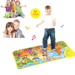 Music carpet keyboard Touch Play Mat