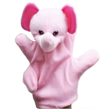 Mouse Elephant Dog cow Duck Frog Panda Children Animal Hand Puppets