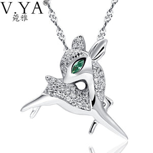 100% Real 925 Sterling Silver Pendant for Women