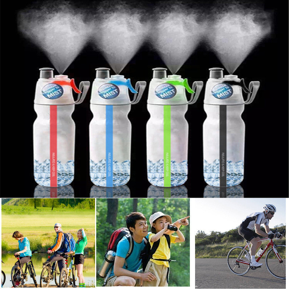 COB LED Camping Sport Bottles With Emergency Lights