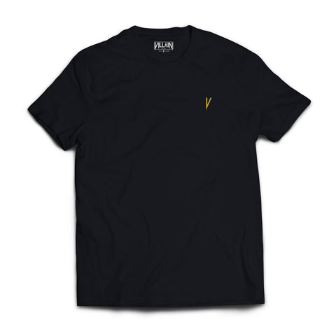 Short Sleeve T-Shirt - Gold V Logo Tee