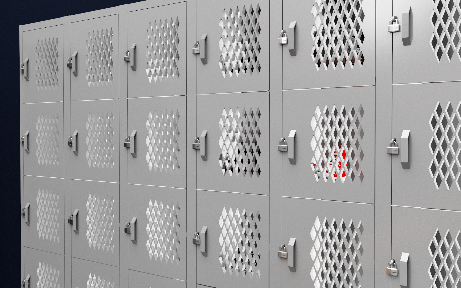 Locker Metalico Mesh