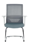 Silla Visitante Vision Gray - offimobile