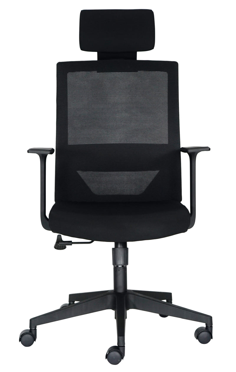Silla Ejecutiva Vision Black - offimobile