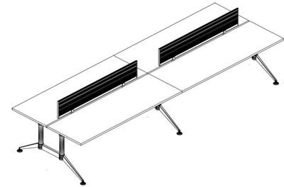 Mesa Bench Tech Black Chrome