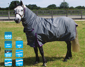 Combo Turnout Rug
