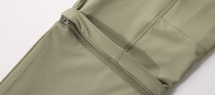 6XL Men's Summer Quick Dry Removable Pants Outdoor Sport Trousers Hiking Trekking Fishing Camping Male Shorts