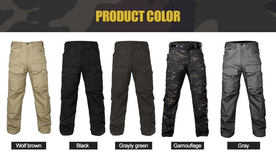Military Tactical Cargo Pants Multi-Purpose All Season ...