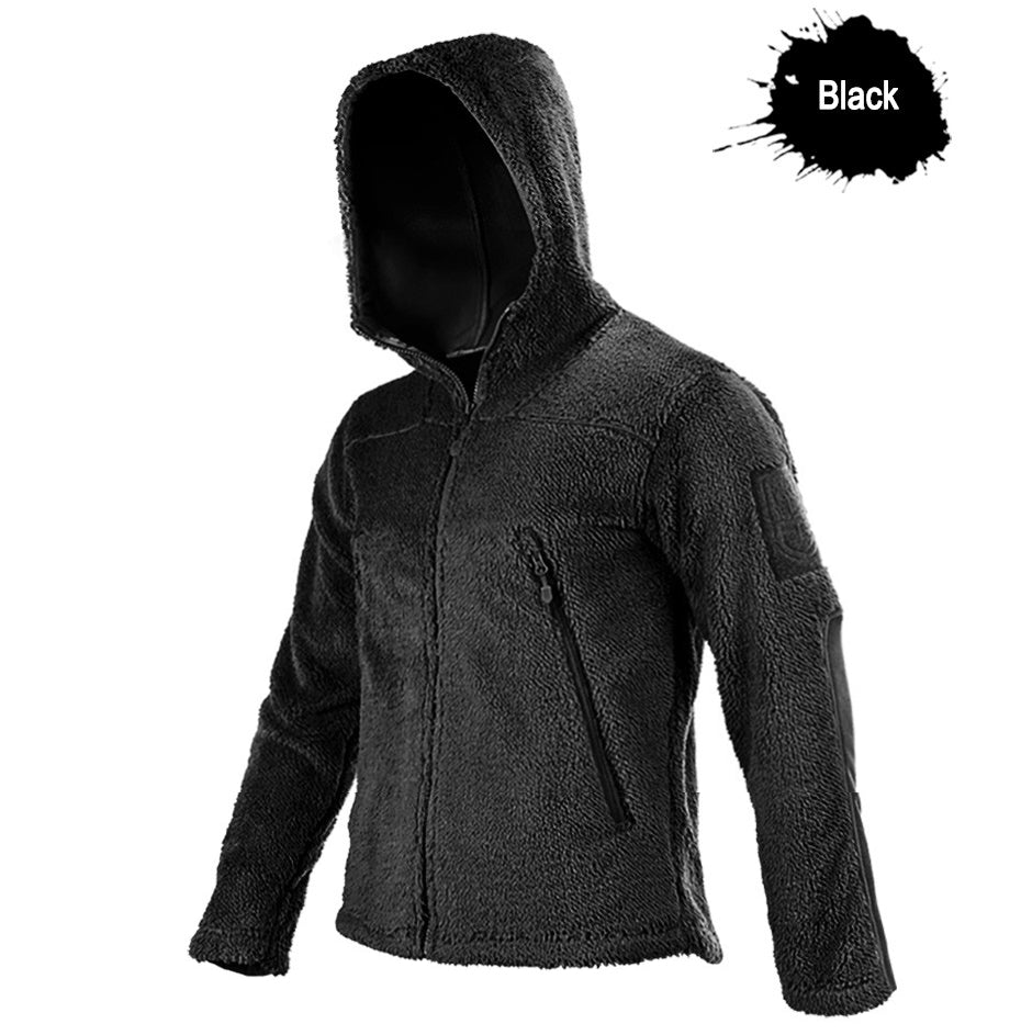 Arctic Tactical 'Bearskin' Thick Fleece Technical Sweatshirt For Men - Available in 3 Colors