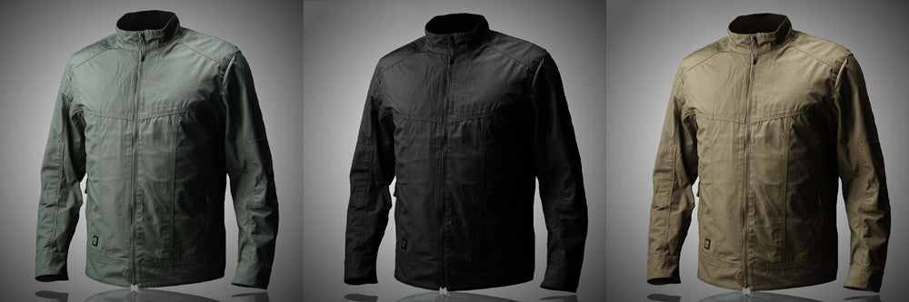 Men's Lightweight Tactical Jacket Military Style Trendy Men's Clothing Casual Coat for Men - 3 Colors