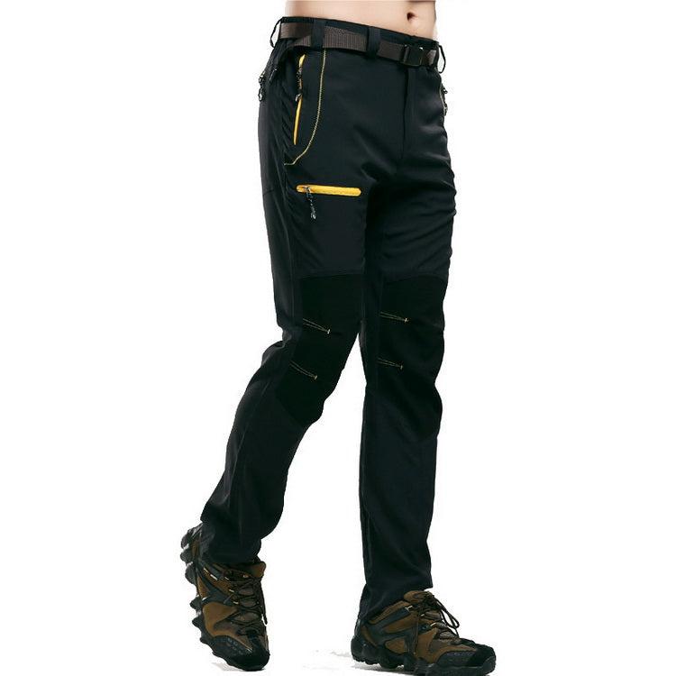 Men's Tactical Hiking Pants Outdoor Sport Lightweight Breathable Waterpoof Trousers For Trekking Mountain Climbing