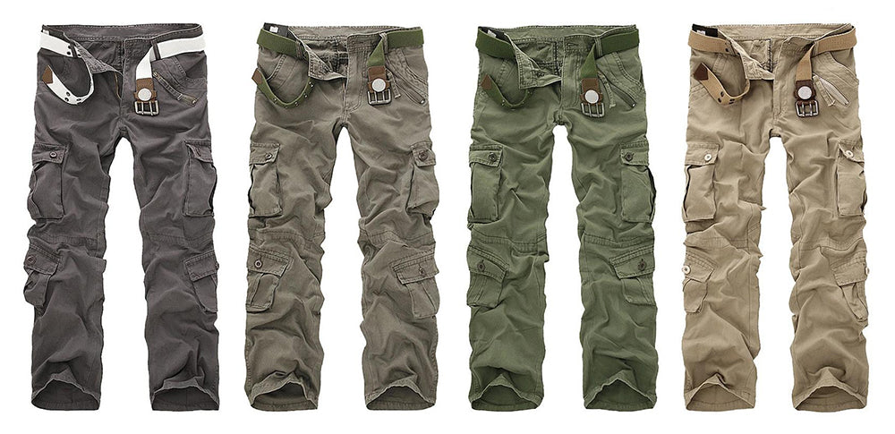 c9bebe85d51fdc Military Tactical Hiking Cargo Pants Combat Trousers For Men - 7 Colors