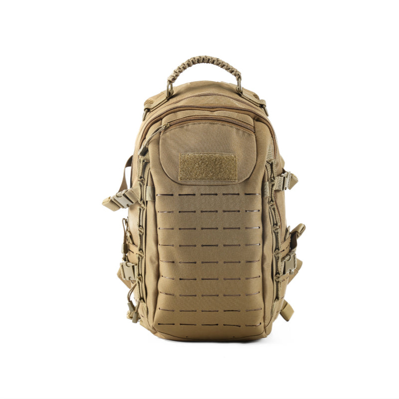 Military Tactical MOLLE Backpack Daypack 25L in Black Green and Khaki