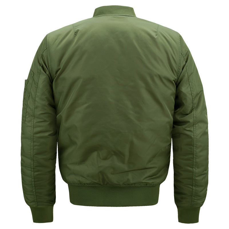 Military Tactical Men's Bomber Jacket in Black, Army Green, Blue
