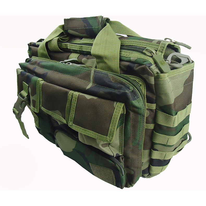 Military Tactical Shoulder Bag Camouflage Briefcase 15.6 inches Laptop Camera Bag Work Office Travel Holdall