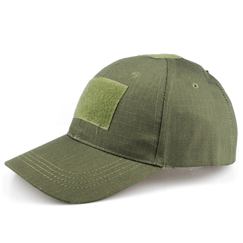 Tactical Baseball Cap Military Style Army Cap Men s Hat With Velcro Patch  Adjustable Strap Baseball Caps 1b76848dbbe