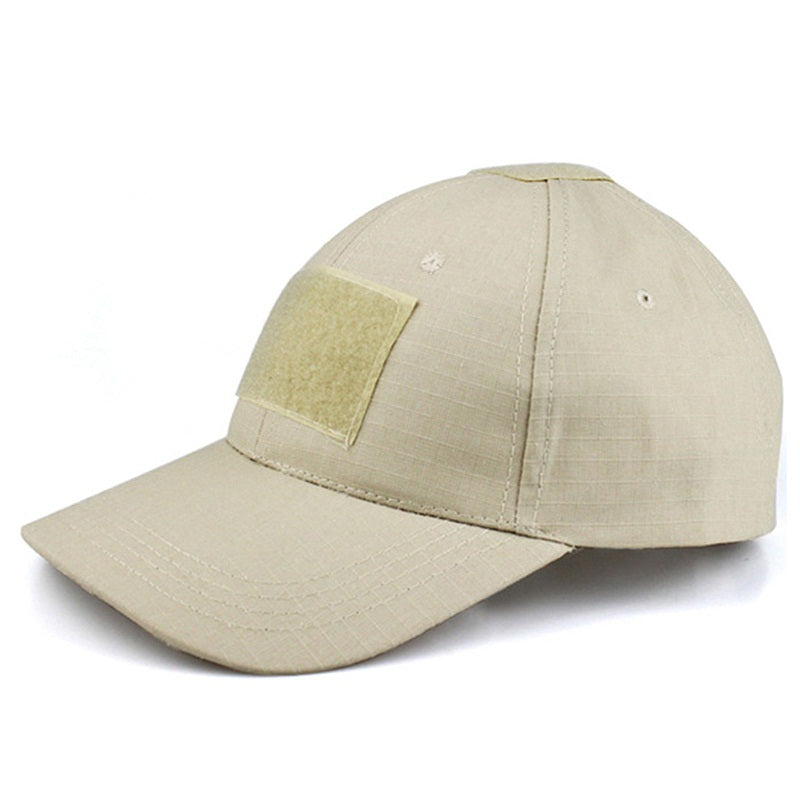 Tactical Baseball Cap Military Style Army Cap Men s Hat With Velcro Patch  Adjustable Strap Baseball Caps 9839283ebf