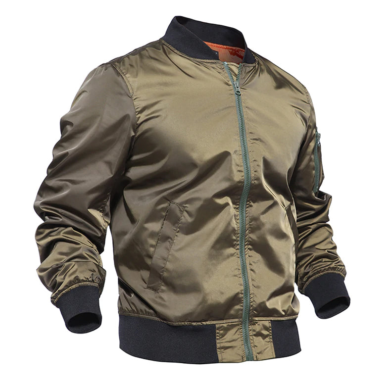 Tactical Bomber Jacket Lightweight Army Military Jacket Pilot Air Force Jacket Tactical Clothing Jacket For Men - 3 Colors
