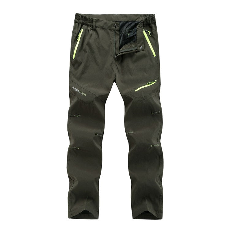 Tactical Breathable Quick Dry Summer Cool Pants Sports Pants For Men Plus Size Outdoor Hiking Camping Fishing Trousers