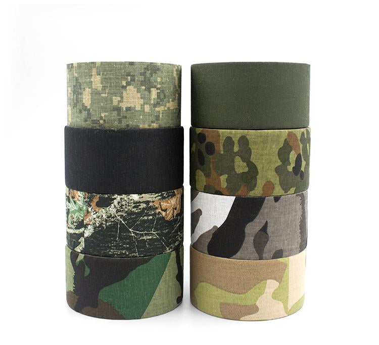 Tactical Camo Wrap Tape For Camouflaging Tools Equipment EDC Gear Etc High Quality - 8 Camo Colors