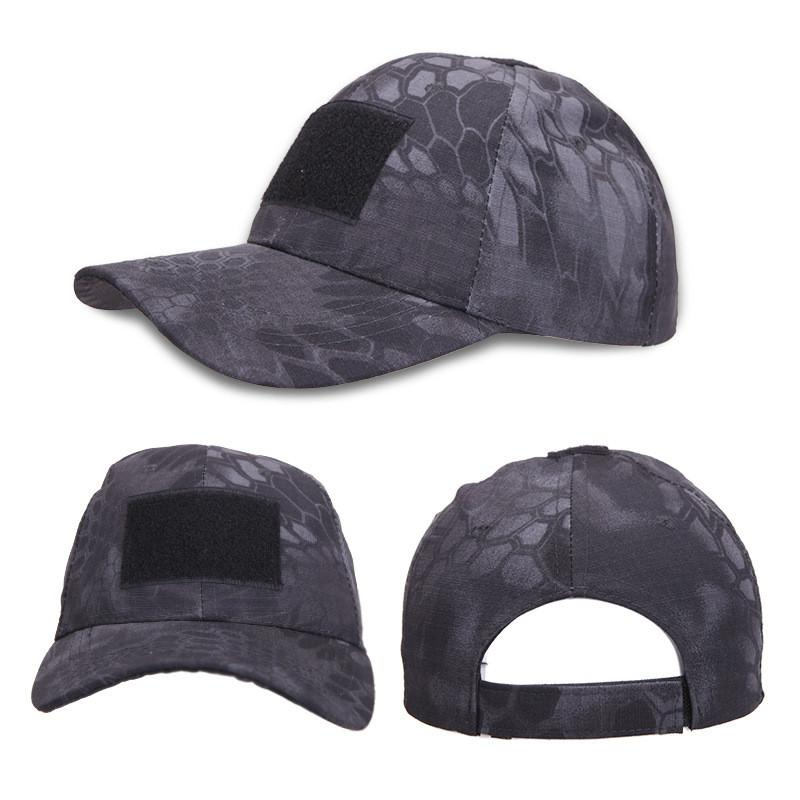 Tactical Camouflage Headwear Military Cap Army Baseball Cap With Adjustable Velcro Fastening - 5 Colors