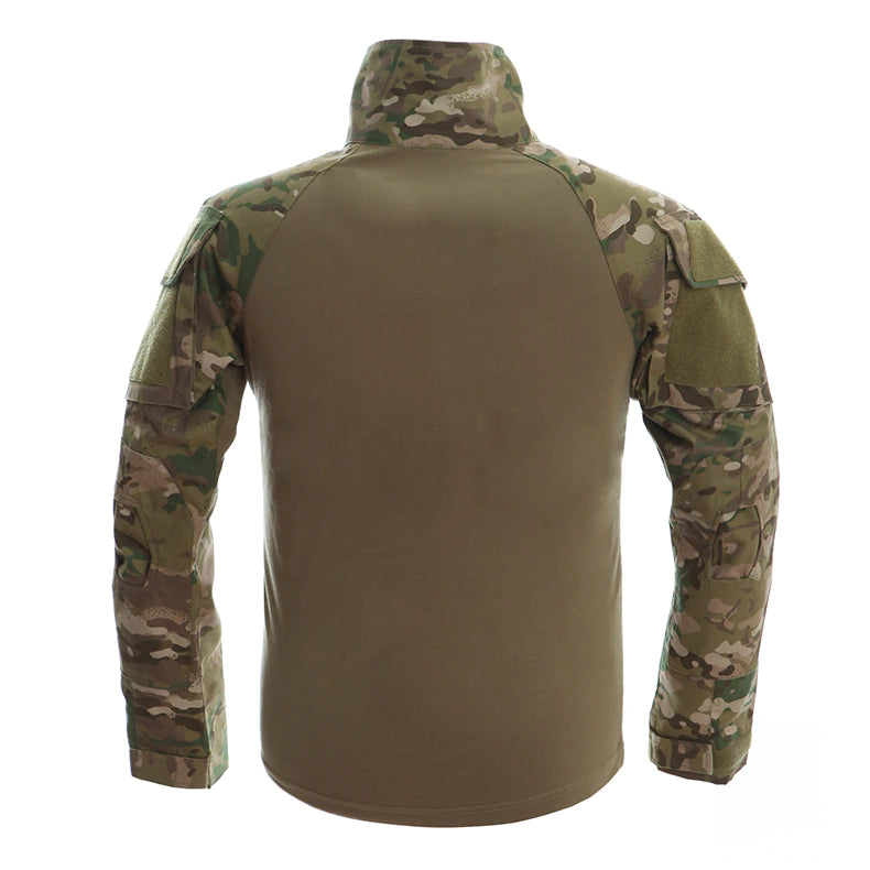Tactical Combat Shirts For Autumn Winter Army Combat Airsoft Paintball Combat Games T Shirt Military Camouflage Long Sleeve T-shirts