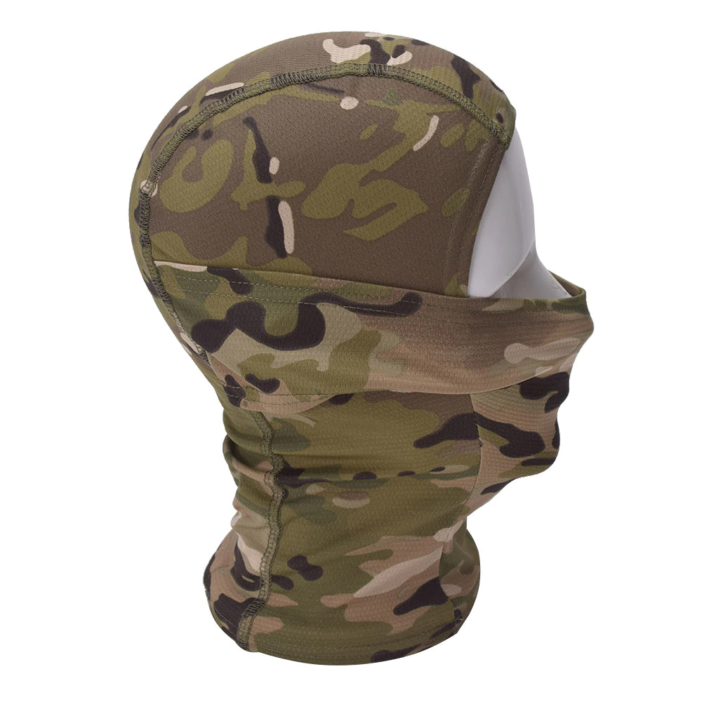 Tactical Headwear Full Face Mask Scarf Navy Seal Sniper Airsoft Paintball Motorcycle Hunting Multicam Breathable Head Scarf - 14 Colors
