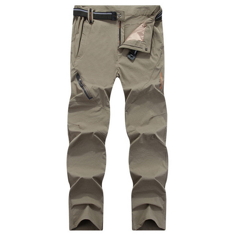 Tactical Hiking Pants Elastic Quick Dry Summer Pants Men Mountain Climbing Cycling Trousers Trekking Outdoor Pants - 4 Colors