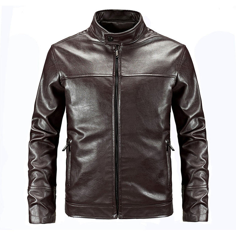 61f4a0bb3 Tactical Leather Jacket Military Bomber Jacket US Army Style Pilot Jacket  Slim Casual Motorcycle Biking Jacket PU Leather - 3 Colors