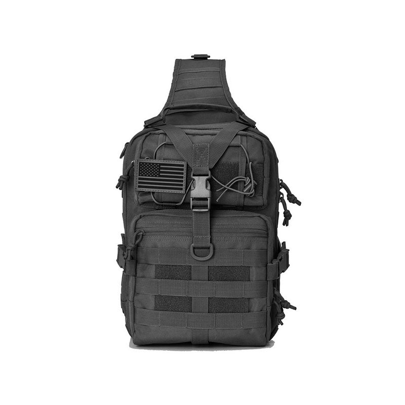 Tactical MOLLE Assault Pack Day Pack EDC Backpack Sling Bag For Daily Use Complete With USA Flag - 2 Colors