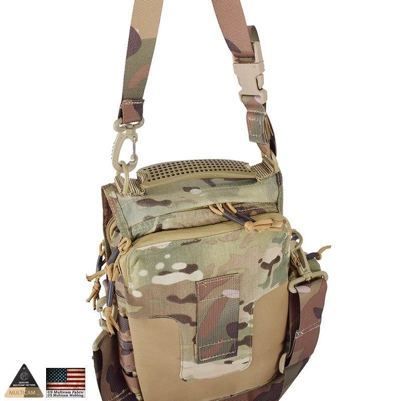 Tactical MOLLE Camouflage Messenger Bag Military Holdall Tablet + Netbook Tactical Ipad Nylon Single Sling Strap Shoulder Bag
