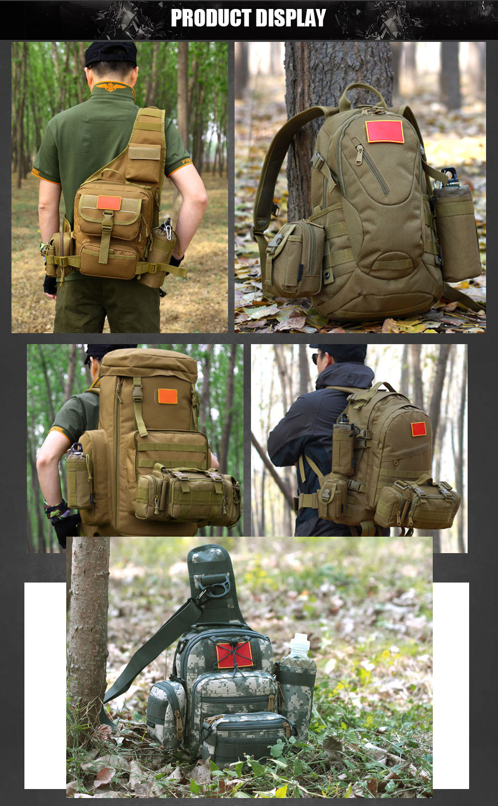 "<img src=""//cdn.shopify.com/s/files/1/2574/2802/files/Tactical_MOLLE_System_Water_Bottle_Army_Bag_Climbing_Bags_D-ring_Holder_Drawstring_Pouch_Durable_Travel_Hiking_Water_Bottle_Bag_-_7_Colors_5.jpg?v=1530409799"" alt=""Tactical MOLLE System Water Bottle Army Bag Climbing Bags D-ring Holder Drawstring Pouch Durable Travel Hiking Water Bottle Bag - 7 Colors"" />"