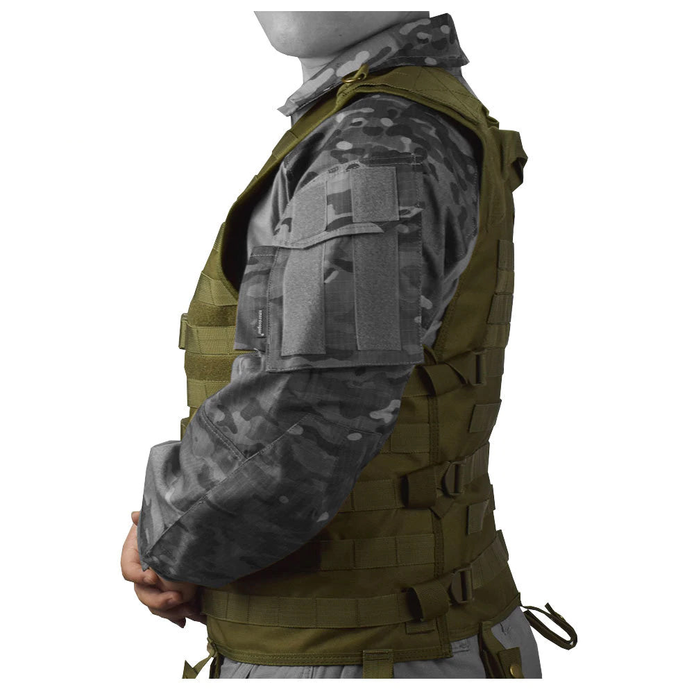 Tactical MOLLE Vest Airsoft Paintball Tactical Army Military CS Camouflage Vest Outdoor Fishing Hunting Gear Swat Tactical Vest - 4 Colors