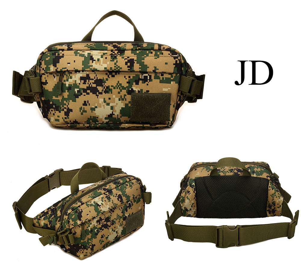 Tactical MOLLE Waist Bag EDC Belt Pouch Durable Nylon Fits 6 Inch Phone Travel Hiking Climbing Molle Belt Pack - 5 Colors